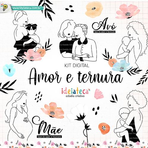 Kit Digital Amor e ternura