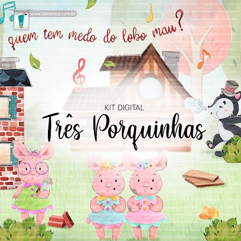 Kit Digital - Três Porquinhas