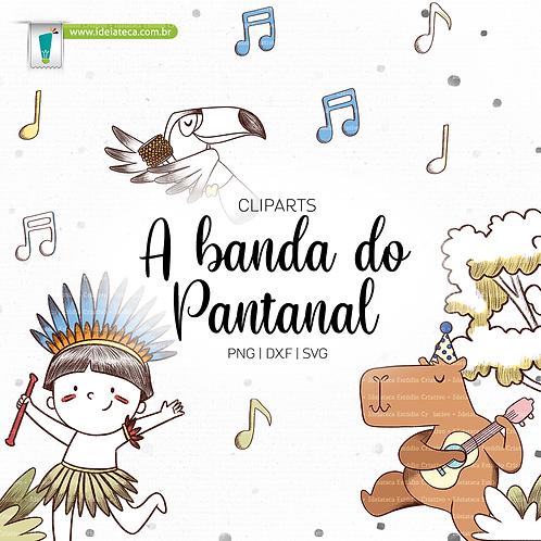Cliparts Elementos - A banda do Pantanal