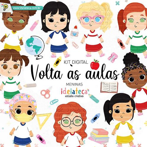 Kit Digital Volta as aulas -  Meninas