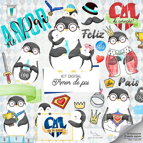 Kit Digital - Amor de Pai