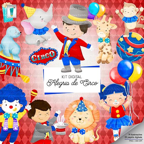 Kit Digital - Alegria de Circo