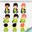 Thumbnail: Cliparts Personagem - Pequeno Príncipe