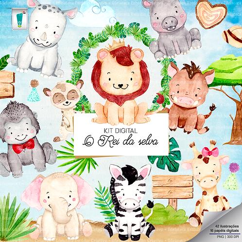 Kit Digital - O Rei da selva