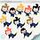 Thumbnail: Cliparts - Mergulhadores
