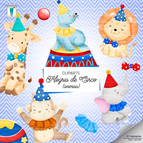 Cliparts Animais - Alegria de Circo