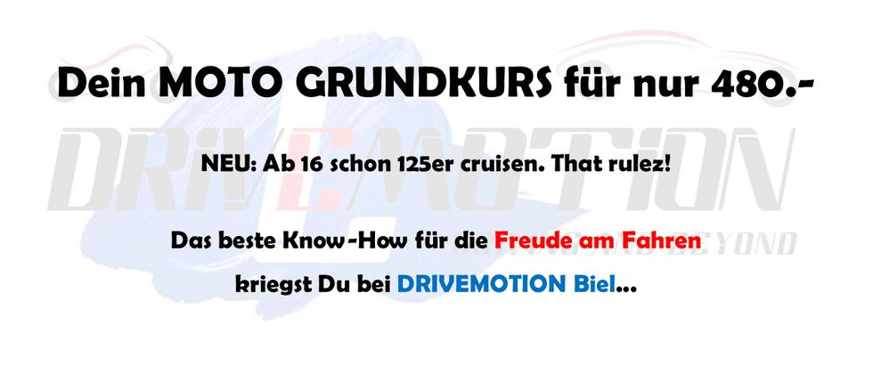 DRIVEMOTION Fahrschule Biel / Bienne - Moto Grundkurse