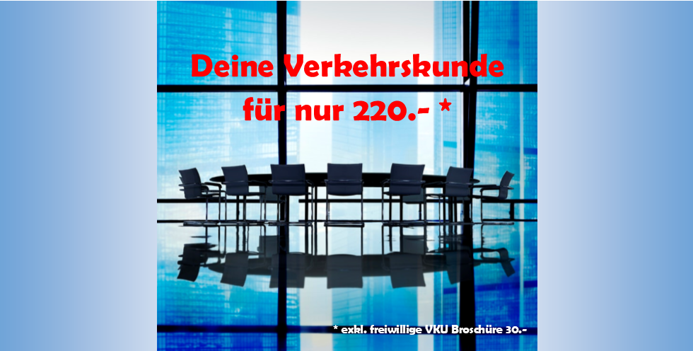 DRIVEMOTION Fahrschule Biel / Bienne - Verkehrskunde Kurs 220 Franken