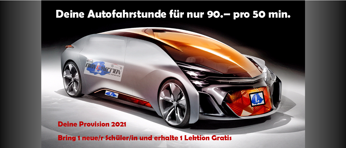 DRIVEMOTION Fahrschule Biel / Bienne Fahrstunden Provision 2021