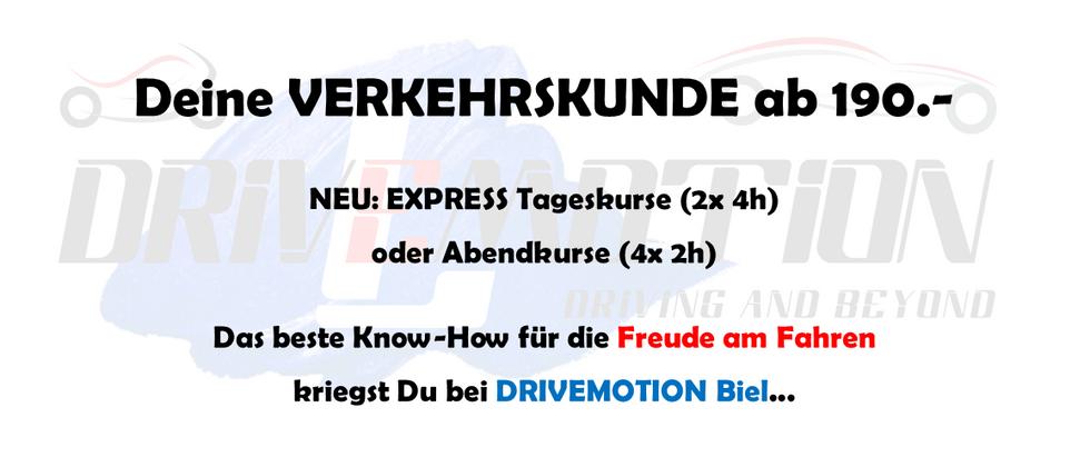 DRIVEMOTION Fahrschule Biel / Bienne - Verkehrskunde