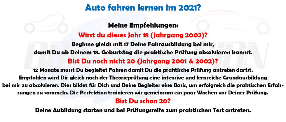 DRIVEMOTION Fahrschule Biel / Bienne - Empfehlung