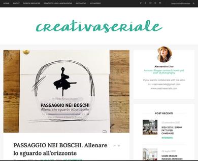 Blog - Creativa Seriale