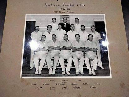 1957-58 D grade Premiers