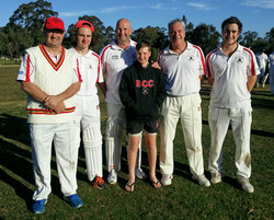 Father & Sons. Round 1 Fourths match