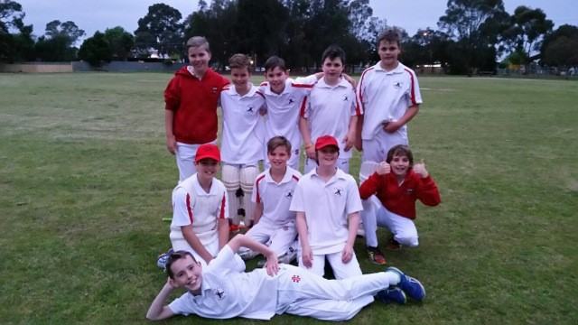 Fri U12 A Celebrate an easy win