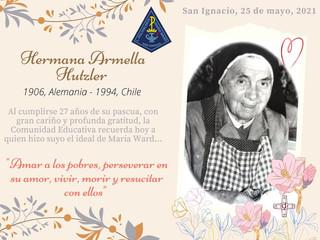 Recordamos a nuestra querida Hermana Armella