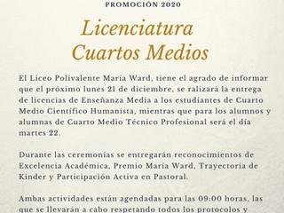 Informativo sobre Licenciaturas de Cuartos Medios