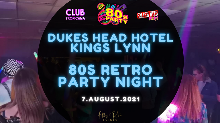 Club Tropicana - 80's vs 90's Party Night