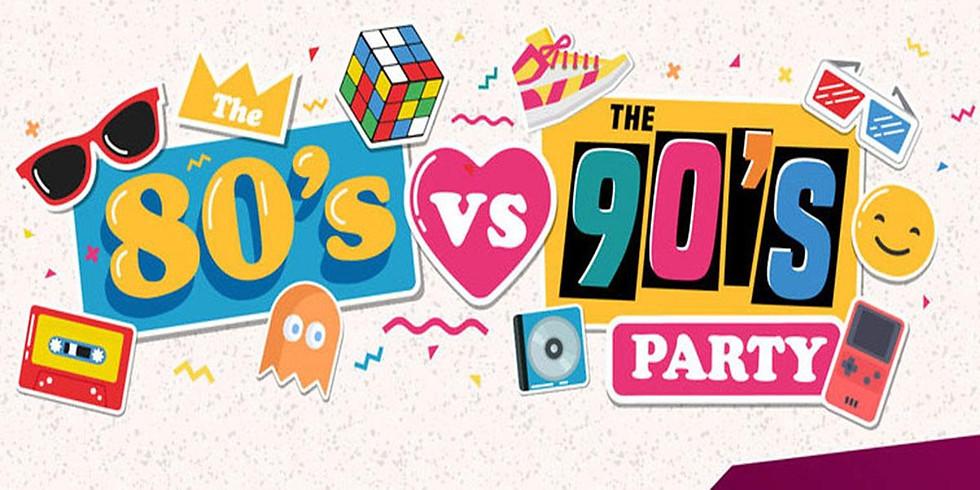 80s vs 90s Ultimate Decades