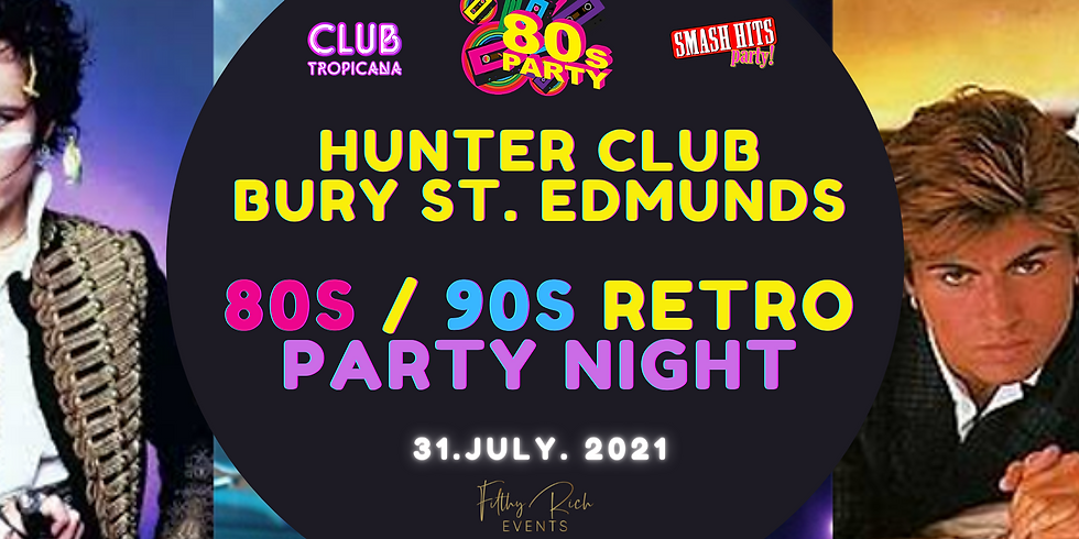 Ultimate Decades 80s V 90s Party Night