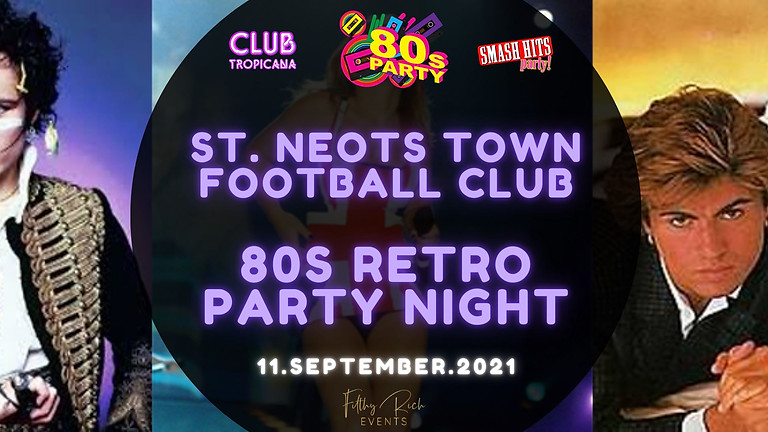 Smash Hits 80s Retro Party Night
