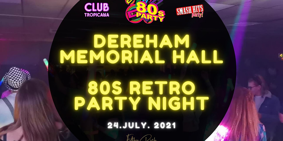 80s Smash Hits Retro Party Night