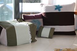 Sitzwürfel und Kissen