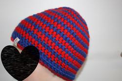 Kappe blau-rot