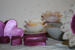 Adventsstimmung in pink