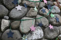 Sternen-Girlanden