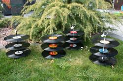 Schallplatten - Etagèren flach