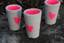 Kerzen- Becher