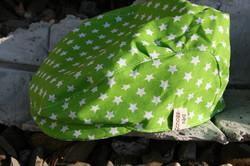 Schiebermütze grün Stern