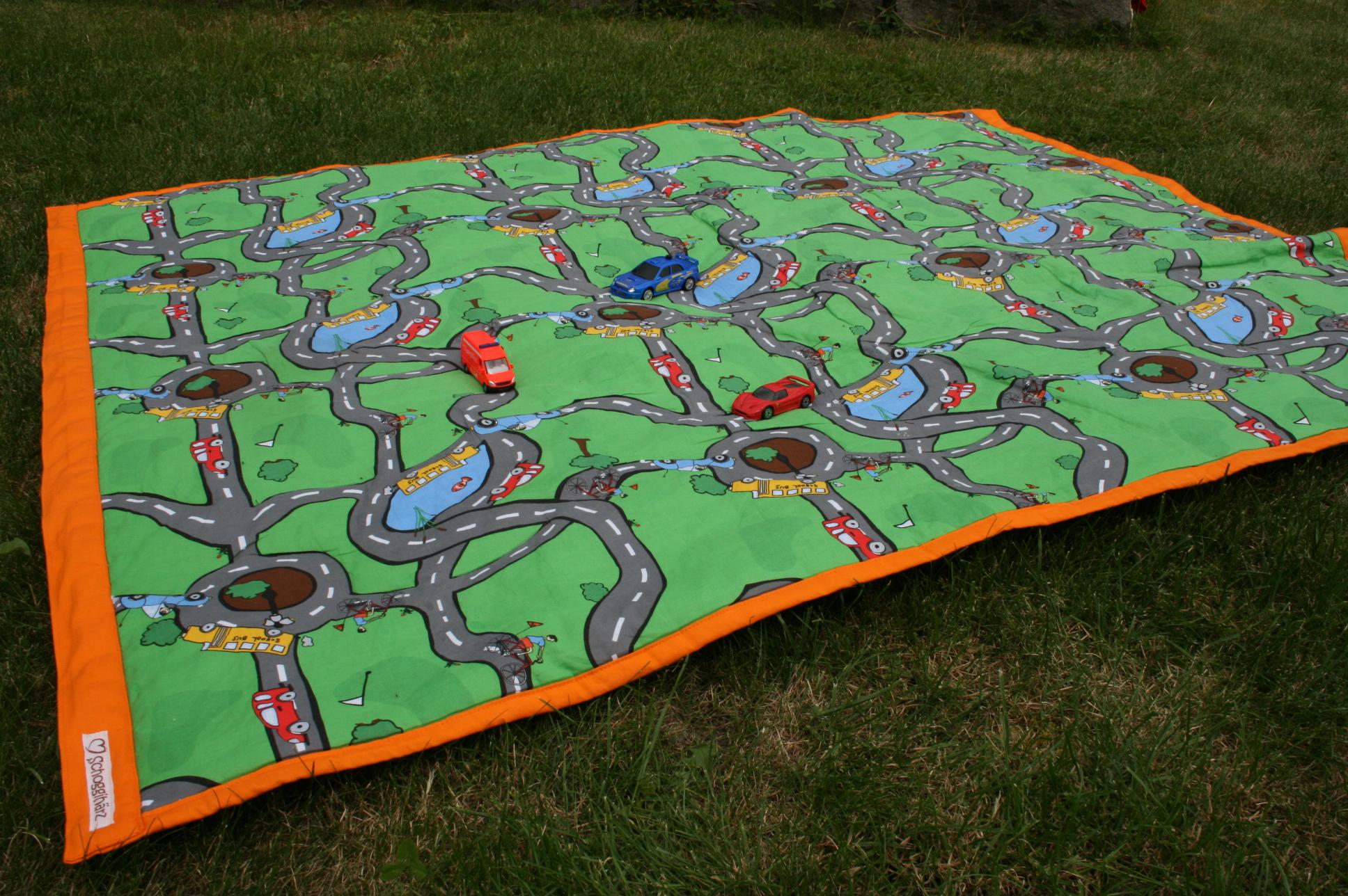 Kinderspiel- & Picknickdecke...