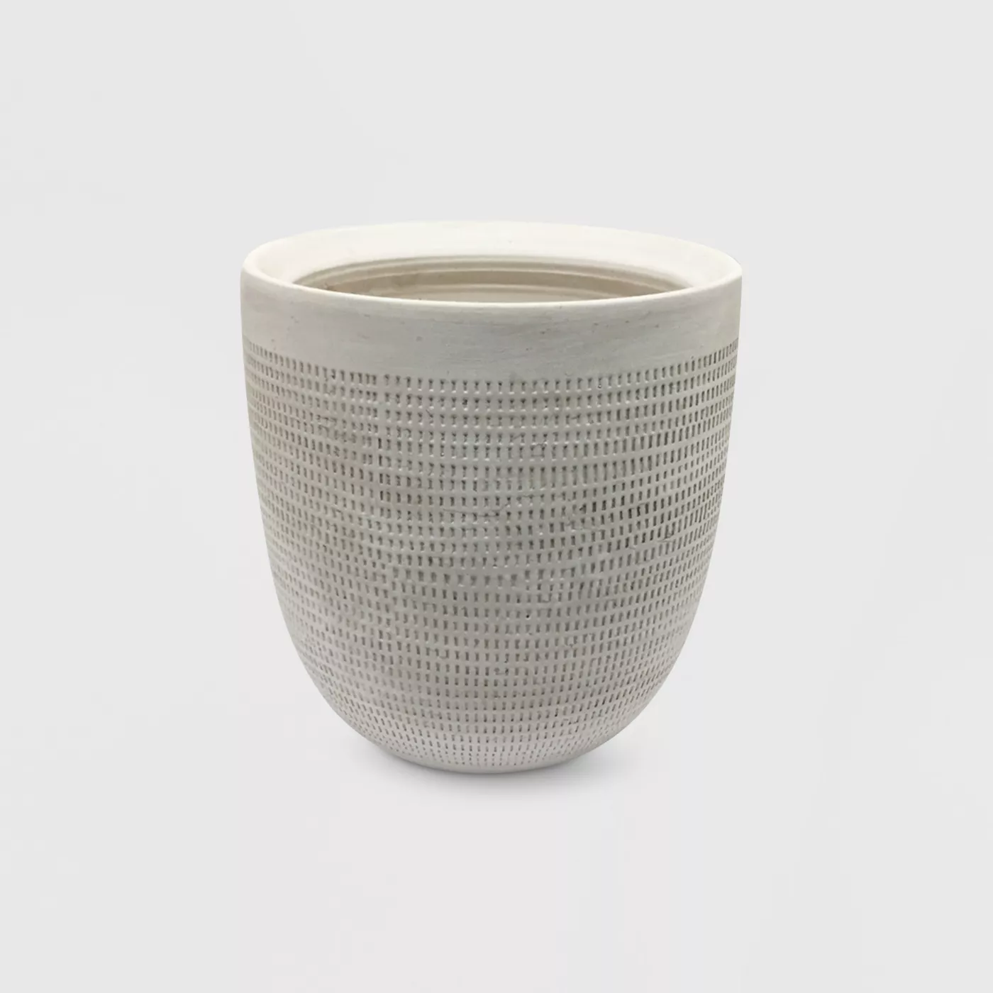 Textured Ceramic Planter