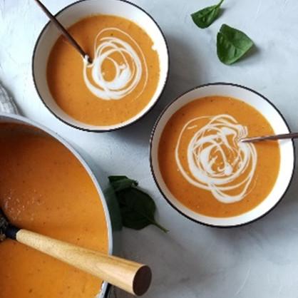 Creamy Coconut Tomato Soup