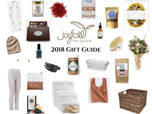 2018 Joyfull Gift Guide