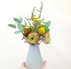 little fire ceramics vase