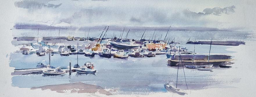Cornwall Plein Air - Watercolour - For S
