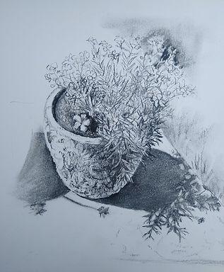 Garden pots with shadows3 - Charcoal.jpg