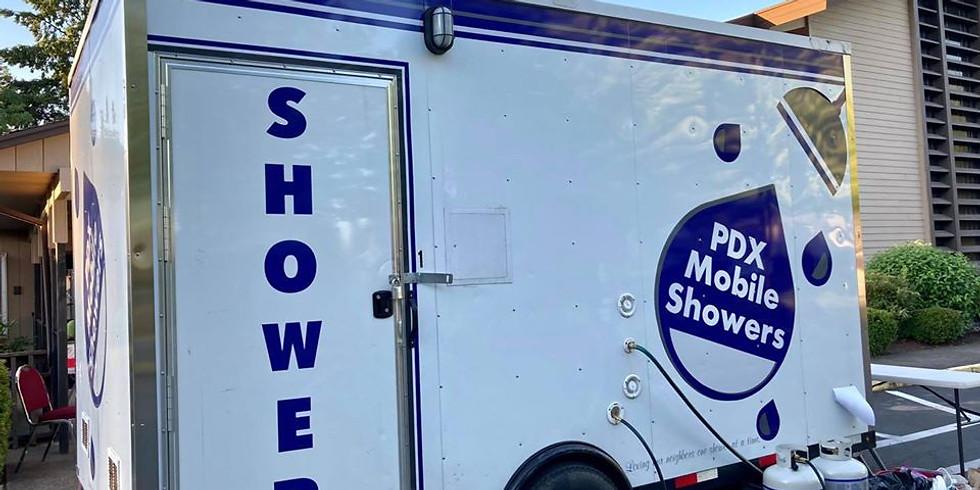 Mobile Shower Cart