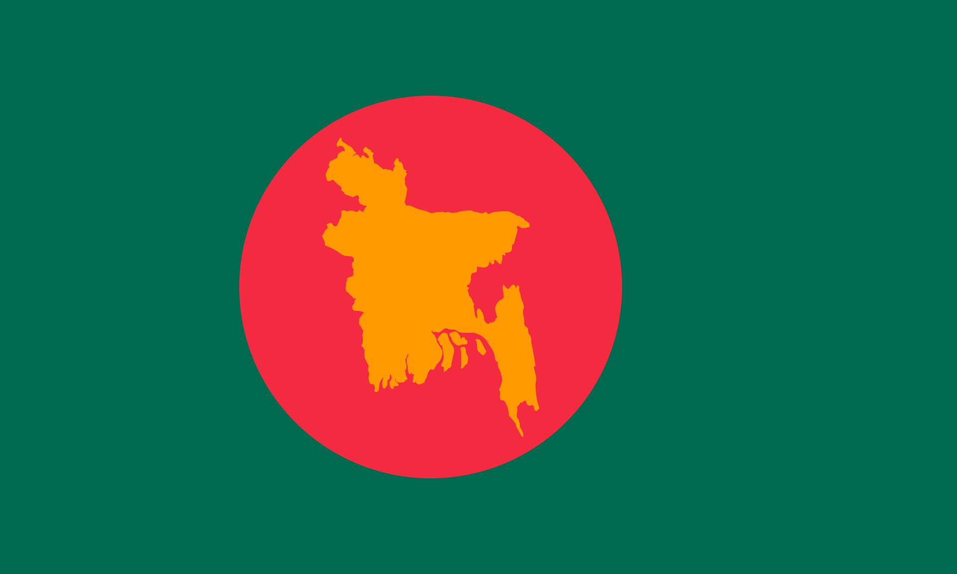 First Flag of Bangladesh (1971-1972)