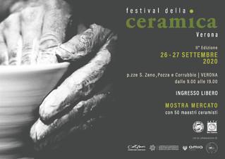26 e 27 settembre Nericata al Festival della ceramica a Verona
