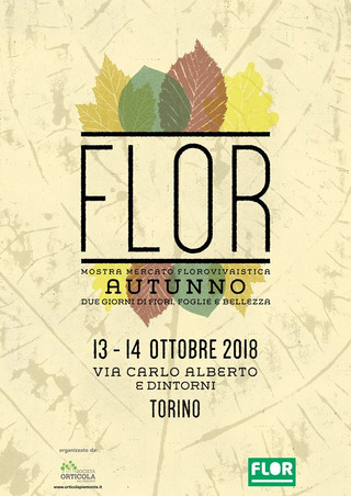 Nericata torna a Flor Autunno il 13 e 14 ottobre 2018