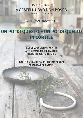 Ferragosto In Cortile da Nericata a Castelnuovo Don Bosco, Asti