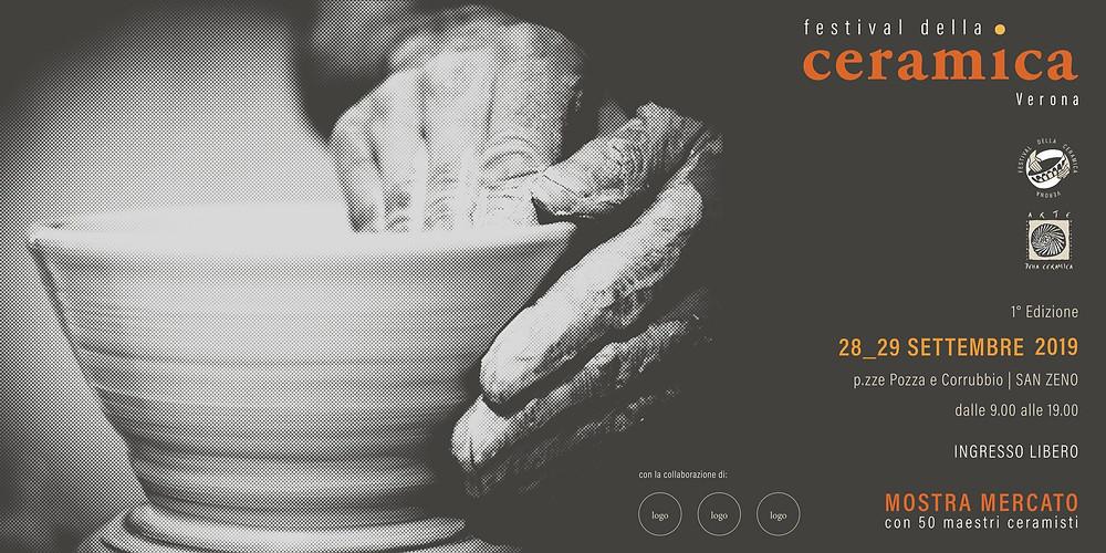 28-29 settembre 2019 Nericata al Festival Ceramica di Verona
