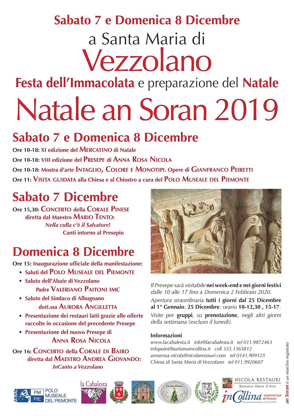 Locandina Natale an Soran 2019 - 7-8 dicembre