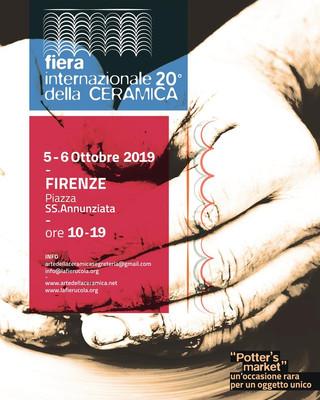5-6 ottobre 2019 Nericata alla Fiera Internazionale della Ceramica di Firenze