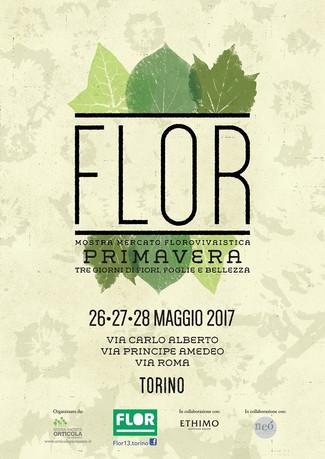Nericata à Flor 2017 - Turin, 26-28 Mai