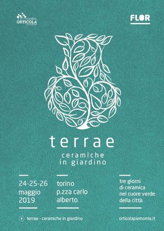 Ceramiche in giardino con Terrae a Torino 24-26 maggio 2019